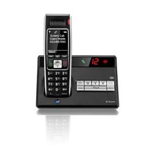 British Telecom Diverse 7450 R DECT telephone Black Caller ID