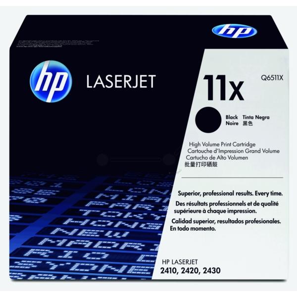 HP Q6511X (11X) Black LaserJet Toner Cartridge 12000 pages