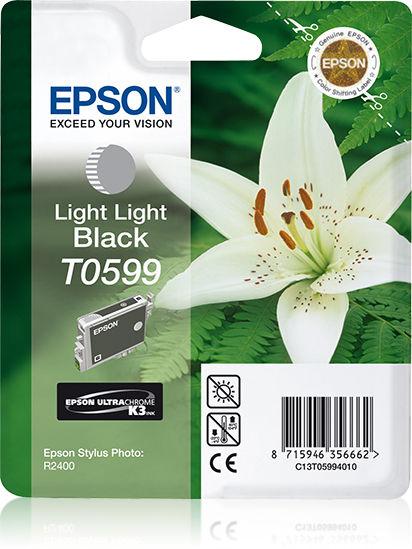 Epson Lily inktpatroon Light Light Black T0599 Ultra Chrome K3