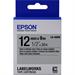 Epson C53S654019 (LK-4SBM) DirectLabel-etikettes, 12mm x 9m