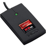 RF IDeas pcProx 82 USB 2.0 Black smart card reader