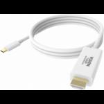 Vision TC 2MUSBCHDMI USB graphics adapter 3840 x 2160 Pixel Weiß