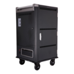 V7 Charge Cart - 30 Devices - Secure, Store and Charge Chromebooks, Notebooks and Tablets - UK Plug