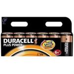 Duracell Plus Power D Alkaline 1.5V non-rechargeable battery