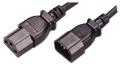 MCL Cable Electric male/female 5m cable de transmisión Negro