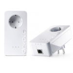 Devolo dLAN 650 Triple+ 600Mbit/s Ethernet LAN White 2pc(s) PowerLine network adapter