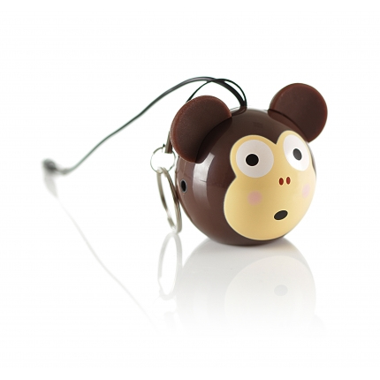 Kitsound Mini Buddy 2 W Mono portable speaker Brown