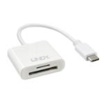 Lindy 43185 card reader USB 3.2 Gen 1 (3.1 Gen 1) Type-C White