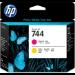 HP Cabezal de impresión DesignJet 744 magenta/amarillo
