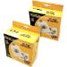 Fellowes CD Paper Envelopes 100 Pack/ White