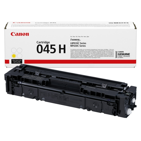 Canon 1243C002 (045H) Toner yellow, 2.2K pages