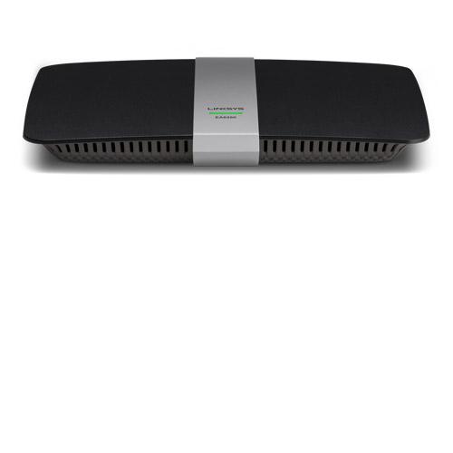 Linksys EA6350 draadloze router Dual-band (2.4 GHz / 5 GHz) Gigabit Ethernet Zwart