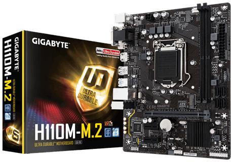 Gigabyte GA-H110M-M.2 Intel H110 Micro ATX