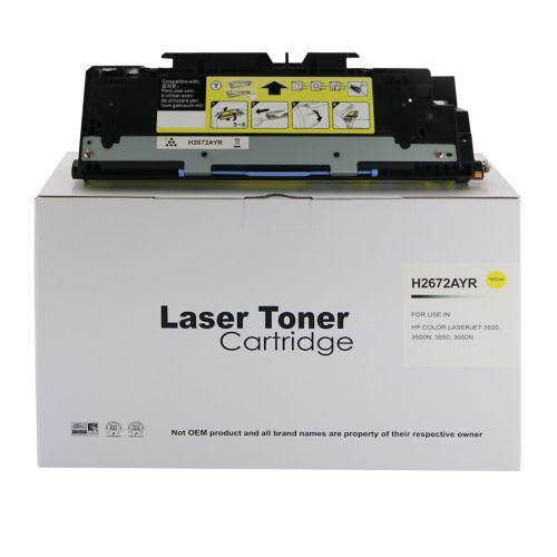 Remanufactured HP Q2672A (309A) Yellow Toner Cartridge