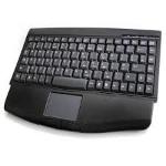 Accuratus KYBAC540-RFMMBK RF Wireless QWERTY English Black keyboard
