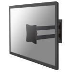 "Newstar TV/Monitor Wall Mount (2 pivots & tiltable) for 10""-27"" Screen - Black"