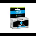 Lexmark Cyan Ink Cartridge 600 Page, Suit S305/505/Pro205