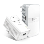 TP-LINK AV1000 Gigabit Passthrough Powerline ac Wi-Fi Kit