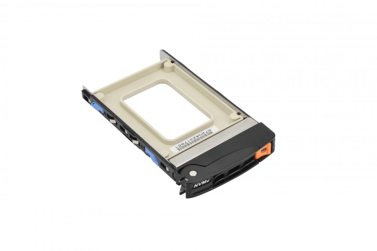 "Supermicro MCP-220-00167-0B storage drive enclosure HDD/SSD enclosure Black 2.5"""