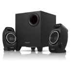 Creative Labs A250 speaker set 2.1 channels Black