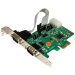 StarTech.com 2 Port Industrial PCI Express (PCIe) RS232 Serial Card w/ Power Output and ESD Protection