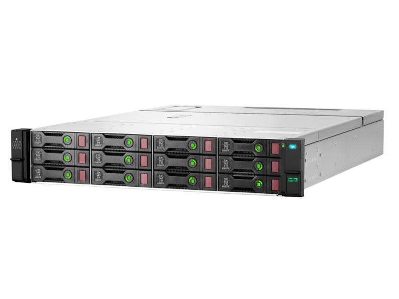 Hewlett Packard Enterprise D3610 disk array Rack (2U)
