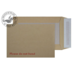 Blake Purely Packaging Board Back Pocket Peel and Seel Manilla C5 229×162mm 120gsm (P 125)