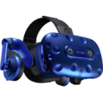 HTC Virtual Reality Apparatus - VIVE PRO 2880x1600 AMOLED, Hi-Res HMD, Dual Mic, 2x VGA Camera, DP, USB3