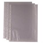 White Box WB PUNCHED POCKET A4 CLR 270486 PK100
