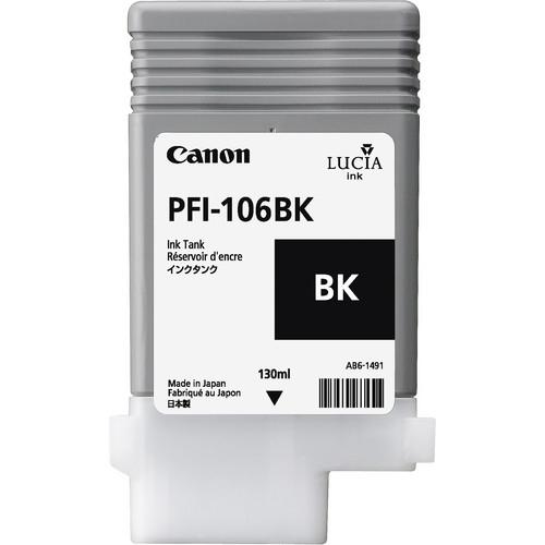Canon PFI-106 BK inktcartridge Original Foto zwart 1 stuk(s)