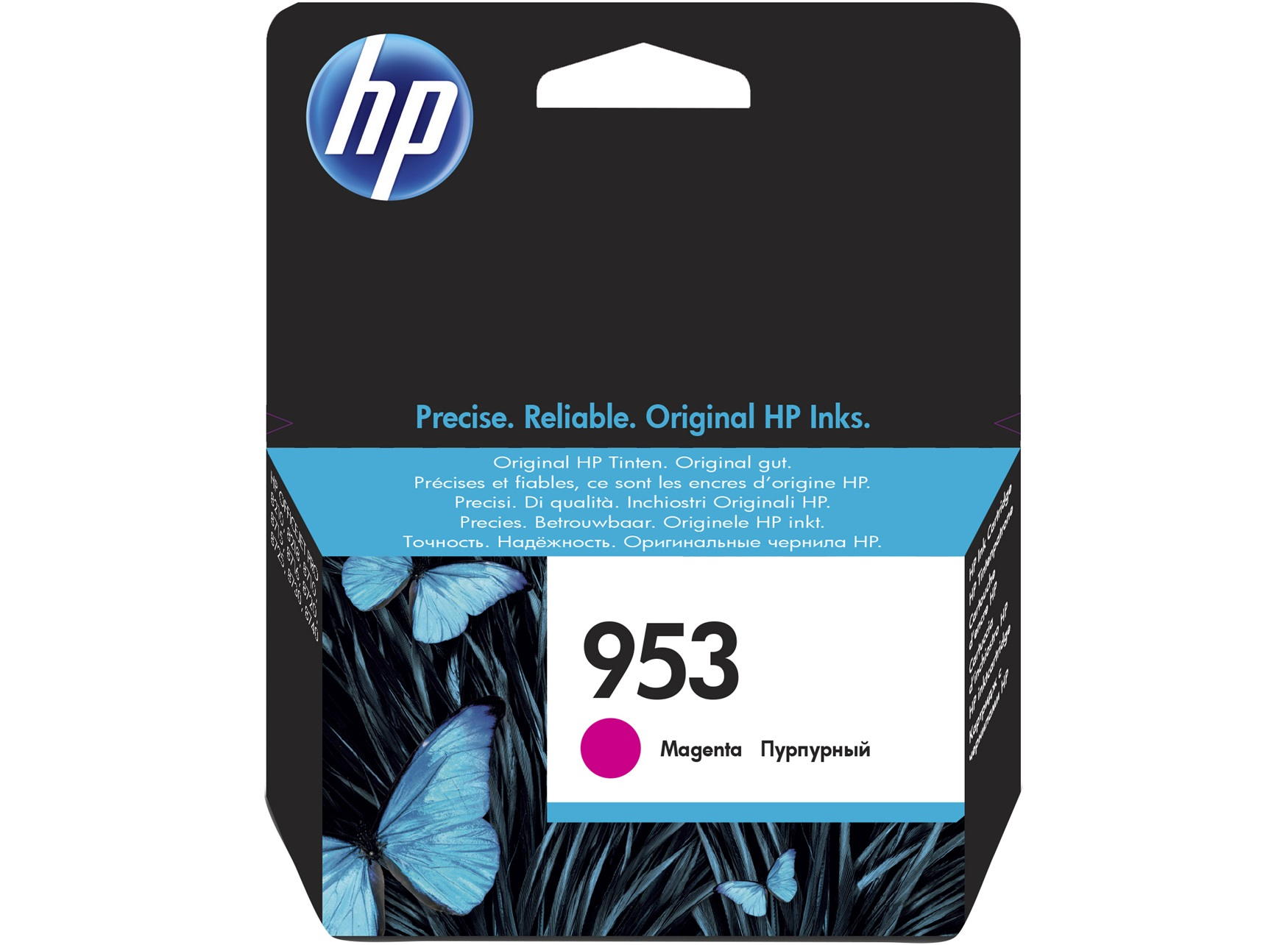 HP 953 Magenta Original Ink Cartridge 10ml 700pages Magenta ink cartridge