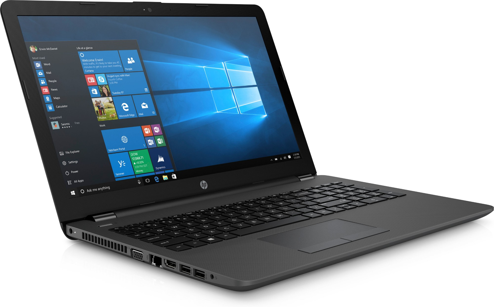 HP 250 G6 2 50GHz i5-7200U 7th gen Intel® Core™ i5 15 6