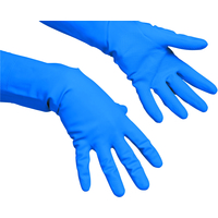 VILEDA Multipurpose Gloves Medium Pack 10 Blue