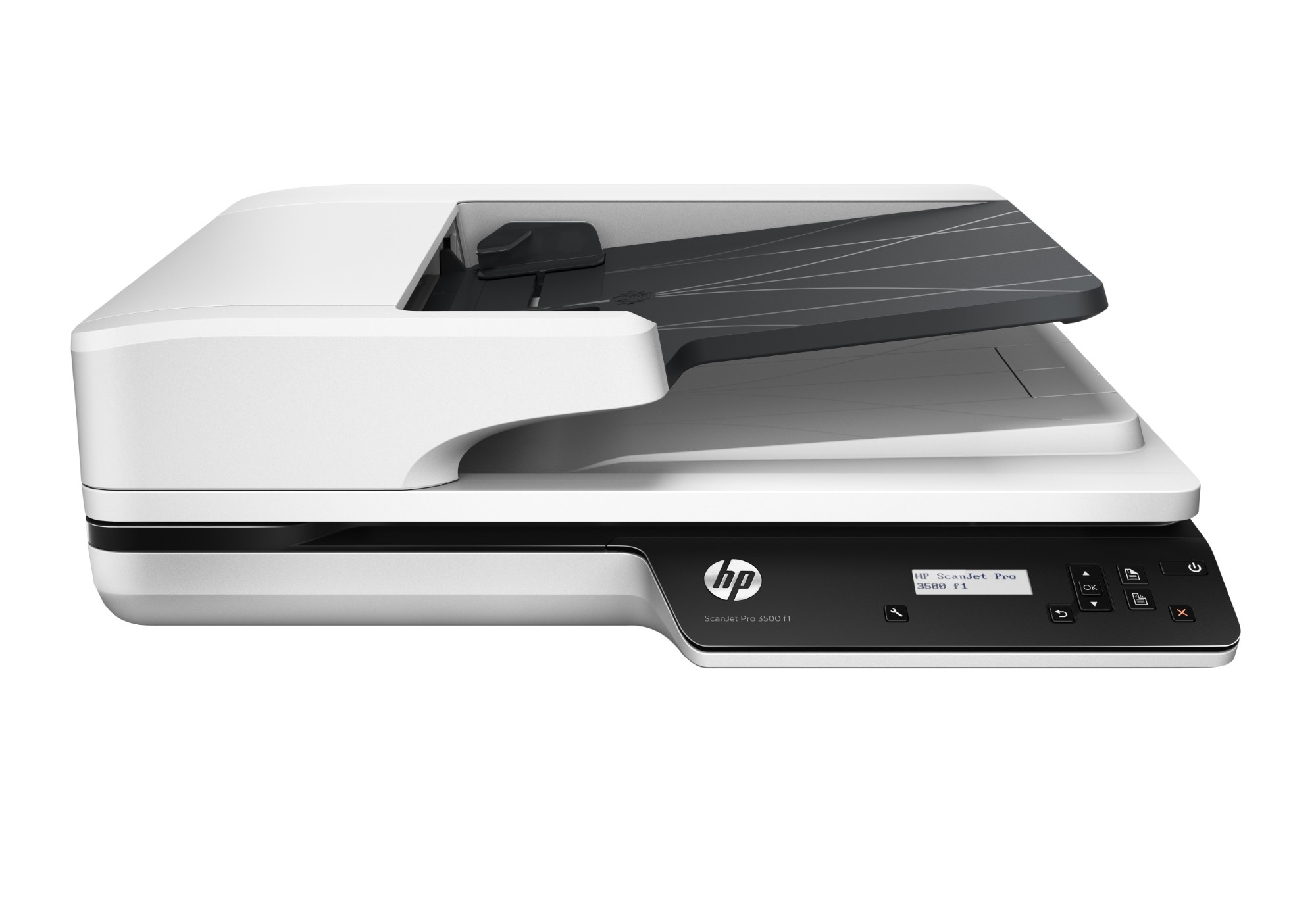 HP Scanjet Pro 3500 f1 1200 x 1200 DPI Escáner de superficie plana y alimentador automático de documentos (ADF) Gris A4