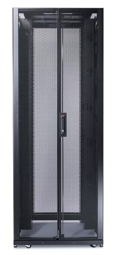 APC NetShelter SX 42U 750mm Wide x 1200mm Deep Enclosure Freestanding rack Black