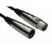 Cables Direct 2XLR-SV020 audio cable 2 m XLR (3-pin) Black,Silver