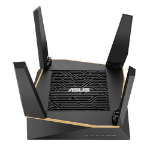 ASUS (RT-AX92U) AiMesh WiFi System, AX6100 (400+867+4804) Tri-Band, 802.11ax, AiProtection Pro, Flexible