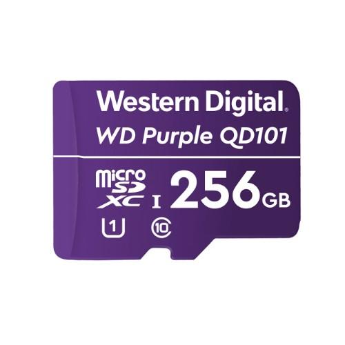 Western Digital WD Purple SC QD101 memory card 256 GB MicroSDXC Class 10