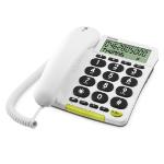 Doro PhoneEasy 312cs Analog telephone Caller ID White