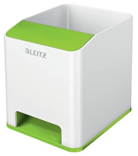 Leitz 53631054 pen/pencil holder Polystyrene (PS) Green, White