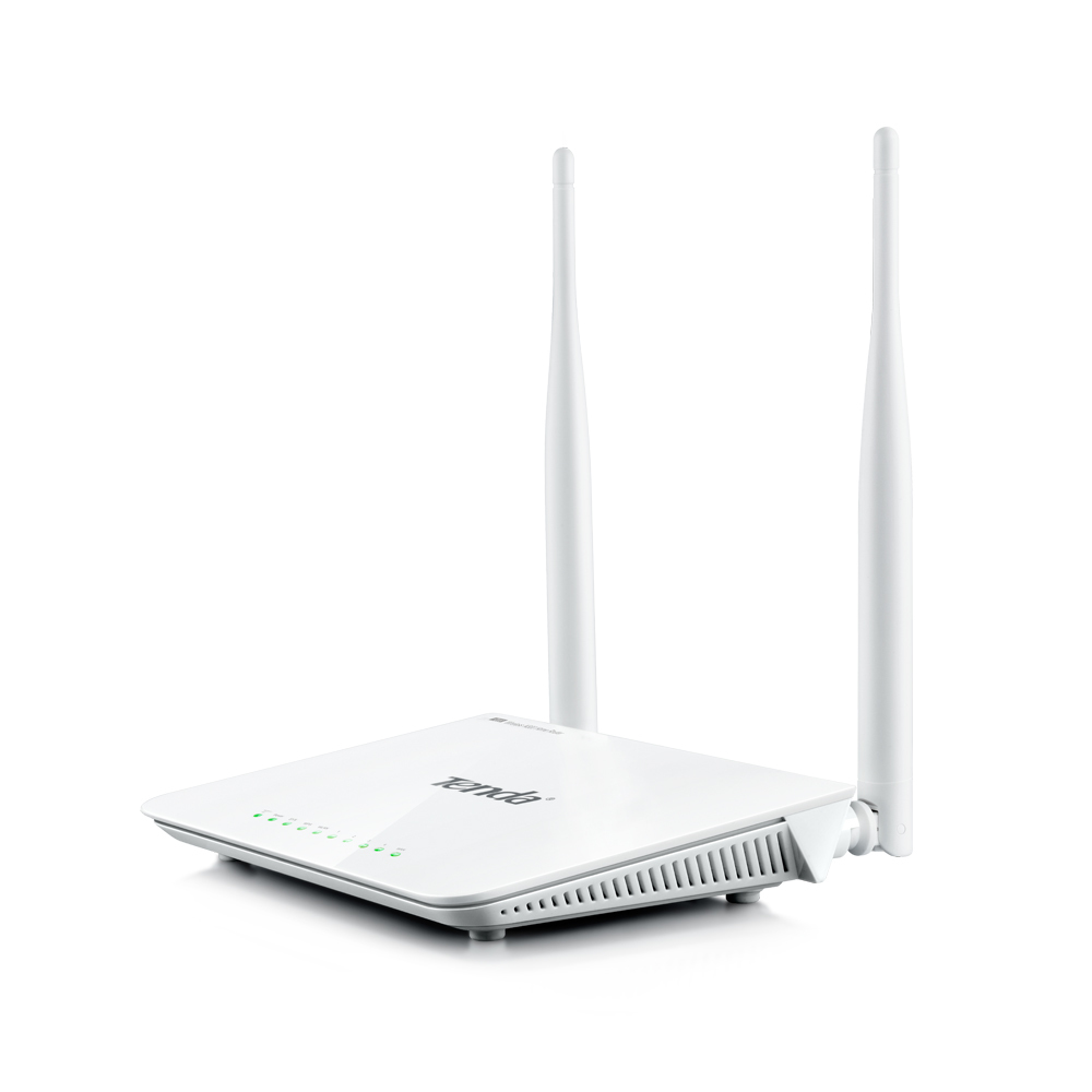 Tenda F300 Fast Ethernet White wireless router