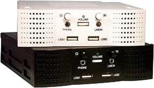 Leader Electronics Beige Int. 5.25' Speaker+USB SPK-150A (LS)