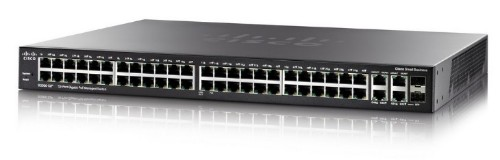 Cisco SG350-52 Managed L3 Gigabit Ethernet (10/100/1000) Black 1U