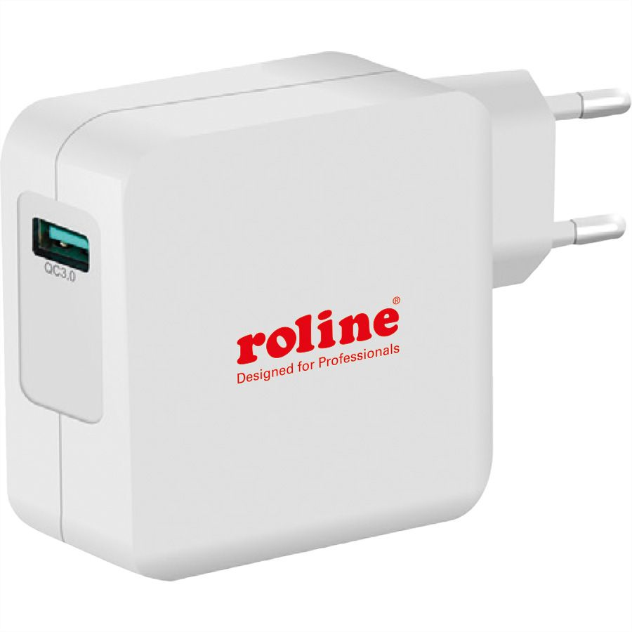 ROLINE 19.11.1024 mobile device charger Indoor White