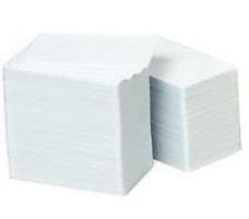 Zebra 800050-167 blanco plastic kaarten