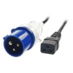 Lindy 30109 power cable Black 3 m C19 coupler