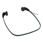 Philips Transcription Black Supraaural Head-band,In-ear headphone