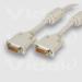 Videk DVI/I M to M Dual Link Digital/Analogue Monitor Cable 5m 5m DVI-I DVI-I DVI cable