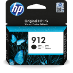 HP 3YL80AE (912) Ink cartridge black, 300 pages, 8ml