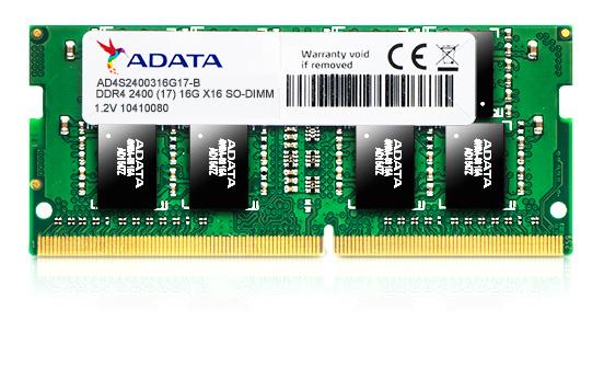 Premier Series - Ddr4 - 4 GB - So-DIMM 260-pin - 2400 MHz / Pc4-19200 - Cl17 - 1.2 V - Unbuffe